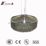 2017 New Product Crystal Triangle Strip Pendant Lamp for Home