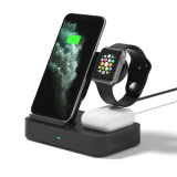 3 in 1 Universal Qi Wireless Charger Stand 30W Fast Charger