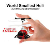 Rh-7131305 Smallest in The World 2CH Mini Amphibian RC Helicopter