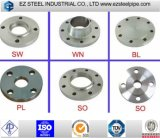 ASME B16.5 En1092 Class150 300 600 900 Stainless Steel Forged Flanges