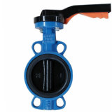 Wafer Butterfly Valve with Vulcanized Seat