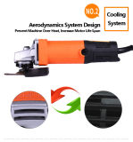 Kynko 100mm Slim Body Angle Grinder for Tombstones Carving