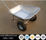 Wb6211 Russia Market Wheelbarrow Wheel Barrow Two Wheeled