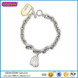 2016 Heart Shape Charm Bracelet Fashion Silver Jewellery Bracelet