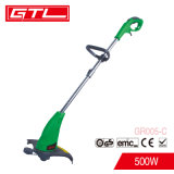 500W Hand-Held Electric Grass Cutter Grass Trimmer with Bump Feed Spool (GR005-C)