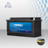 DIN75/57539 12V Car Battery Specifications German Standard 75ah Mf Cheap Automotive South Korean Style Car Battery