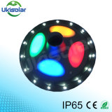 Cheap All in One Integrated Solar LED Outdoor Lighting for Garden Street Lamp UFO Style