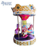 Amusement Kids Rides Indoor Outdoor 3 People Small Carousel