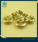 Plating Gold Brass Metal Eyelets for Garment, Clothing, Shoes