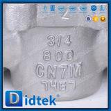 Didtek Cn7m Threaded Sleeve Plug Valve