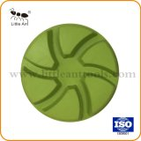 Factory Wholesale 4'' Concrete Floor Resin Diamond Polishing Pads with 6 Theeth