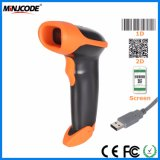 2D Imager Handheld Barcode Scanner, Qr Code Barcode Scanner Read, Read Every Code on PC/iPhone/Cellphone, Mj2818