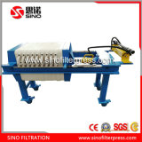 Small Manual Hydraulic PP Filter Press Price