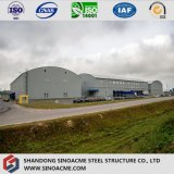 Steel Structure High Rise Workshop with Arc Roof