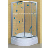 Art Ptemper Glass Shower Cabin with Acrylic Bathtub (A-020)
