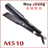 Colorful Titanium LCD Display Hair Styler Hair Flat Iron