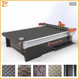 Vibrating Knife Cutting Machine with Auto Feeding for Leather Foot Mat 2516