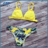 OEM Women Swimsuit Sexy Brazilian Swimwear Floral Bikini