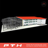 Simple and Economic Light Steel Structure for Multi-Stories Department Building