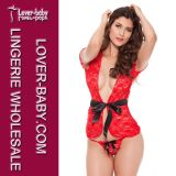 Woman Ladies Babydoll Underwear Plus Size Sexy Lingerie (L27883-2)