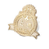 Promotion Gold Plated Metal Badge, Brass Lapel Pin (GZHY-CY-004)