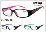 Hot Sale Fashion Reading Glasses for Lady, CE, FDA, Kr5122