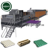 Hghy Paper Pulp Coffee Cup Carrier Making Production Line Egg Box Egg Tray Paper Tray Making Machine
