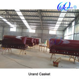 Veneer Wholesale High Gloss Velvet Coffin and Casket