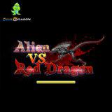 2018 Alien Vs Red Dragon Fish Game Gambling Arcade Fishing Table Machine