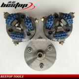 D125mm Diamond Bush Hammer Plate for Grinding Lichi Surface