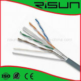 Factory Price 0.56 mm Bare Copper FTP CAT6 Network Cable