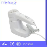 Wall-Mounted Luxurious ABS White Hair Dryer for Hotel Bathroom