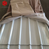 SGCC Dx51d Galvanized Colour Coated Corrugated Steel Roofing Sheet