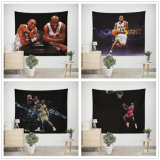 Blue Ball Star Pattern Tapestry Wall Hanging Curtain Decor Cloth