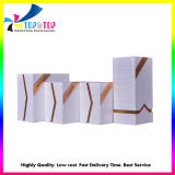 Luxury High End Skincare Packaging Box Texture Paper Making Handmade Customized Packaging Box