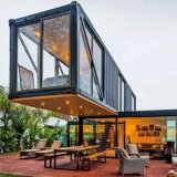 Modern Portable Restaurant Buildings Prefab Shipping Container House New