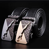 Factory Direct Sale Men Business Formal Wear Rachet Top Grain Cowhide Belt