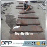 Chinese Polished High End Red Granite Step for Granite Floor & Interior Decoration