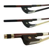 Musiacl Instruments Double Bass 1/2 Solid Brazilwood Bass Bow