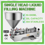 Pneumatic Filling Machine 50-500ml Semi-Auto Single Head Liquid Filling