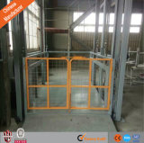 Good Price Hydraulic Lift Warehouse Used Guide Rail Freight Elevator Lift Table