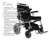 User Friendly E-Throne Portable Lightweight Brushless Folding Electric Wheelchair with Ce