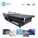 CNC Apparel Plotter Cutter Machine Automatic Fabric Cloth Leather Cutting Equipment for Garment Materials