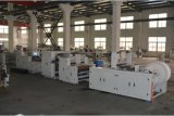 Double Layer V Bottom Paper Bag Maker Machine with Flexo Printing and Window HS350I