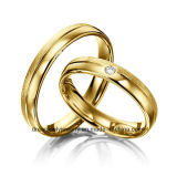 OEM/ODM Brass Dummy Wedding Ring Couple Ring Top Quality Jewelry