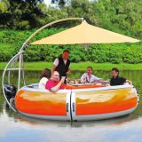 Family Dinner Party Water Amusement Donut Barbecue Boat with Friends