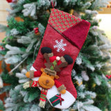 Fun Fashion Christmas Stocking Decoration Clothes Santa Socks Christmas Gift for New Year Candy Gift Bags for Kids