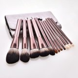Wholesale 12 PCS High Quality Cosmetics Professional Makeup Brush Set with Tote Bag