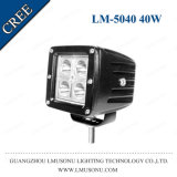 Square 40W LED Driving Working Light for Truck Offroad LED Work Auxiliary Light 3 Inch