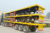 Flatbed Semi-Trailer for Special and Heavy Duty Transport